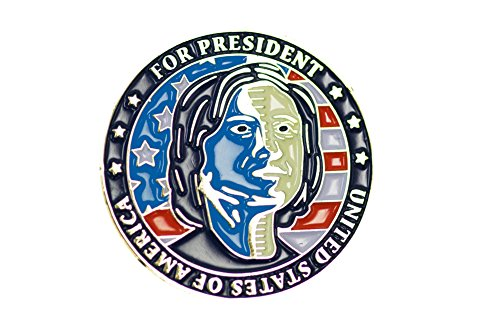 Trump and Clinton Halloween Costumes - Choose Edgy or Funny - Donald Trump & Hillary Clinton For President Flip Coin