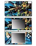 Teenage Mutant Ninja Turtles TMNT Leonardo Leo Shredder Cartoon Movie Video Game Vinyl Decal Skin Sticker Cover for Nintendo DSi System