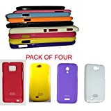 ( Pack Of Four ). Rich Finish, Light Weight Thinnest Wall New Housing Back Cover For Your Mobil : Samsung-Samsung...