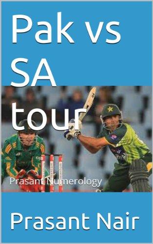 Pak vs SA tour Pdf
