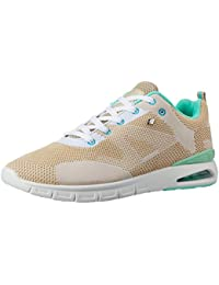 British Knights Women's Demon Beige And Mint Sneakers