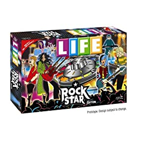 Click to buy Rock Star Life board game from Amazon!