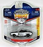 Jada Badge City Heat County Sheriff '70 Dodge Challenger Black/White #017