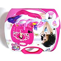 New Cute Fashion Beauty Set For Kids With Suitcase (21 Pcs) - Pretend Play Toy Set For Kids Children