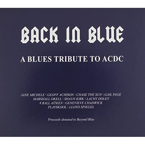 Back In Blue - A Blues Tribute To AC/DC Various Artists Audio CD