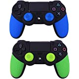 Generic 2 Pcs Soft Anti-Slip Silicone Rubber Skin Case Cover For Sony PlayStation Dualshock 4 PS4 Pro Slim Controller...