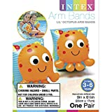Intex Lil' Octopus Inflatable Arm Bands Floatation Sleeves, for Ages 3-6