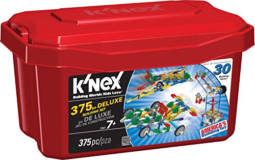 K'NEX Deluxe Building Set (375 Pieces)