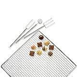 KAISER Pralinen-Set Pâtisserie attraktives Präsentieren der Backergebnisse hygienische Einmalanwendung hohe Qualität aus hochwertigem Papier