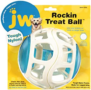 Amazon.com : JW Pet Company Rockin Treat Ball for Dogs