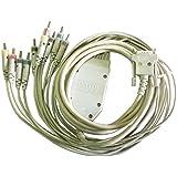 Schiller Cardiovit 10 Lead Patient Cable With Banana Plugs For Schiller Cardiovit ECG Machine