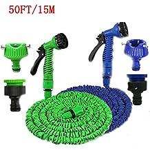 ASkyl Magic Hose Garden Pipe, 15m 50 Feet Expandable Garden Hose For Car Washing Gun Retractable Garden Watering...