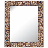Decorative Smith Glass Mirrored Mosaic Tile Mirror (Pack Of 2)