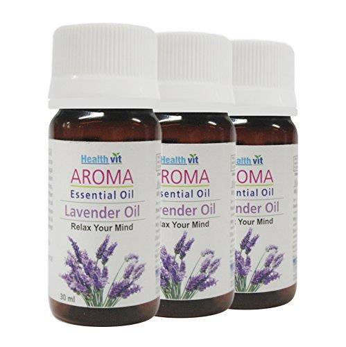 Healthvit Aroma Lavender Essential Oil 30ml (Pack Of 3)