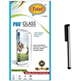 Tidel 2.5D Curved Tempered Glass Screen Guard Protector For Samsung Galaxy A5 (New 2016 Edition) With Stylus