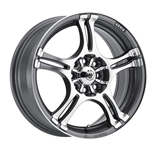 Konig Incident Graphite Machined Wheel (14×6″/4x100mm)