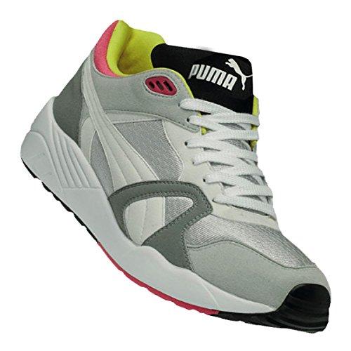 Puma, Sneaker uomo weiß / gelb / lila