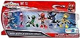 Power Rangers SUPER Megaforce 2 Inch Figure Set Mini Battle Ready Team by Bandai