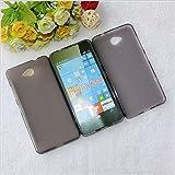 Best Deals - Premium Silicon Soft Back Case Cover For Microsoft / Nokia Lumia 650 - DarkGrey