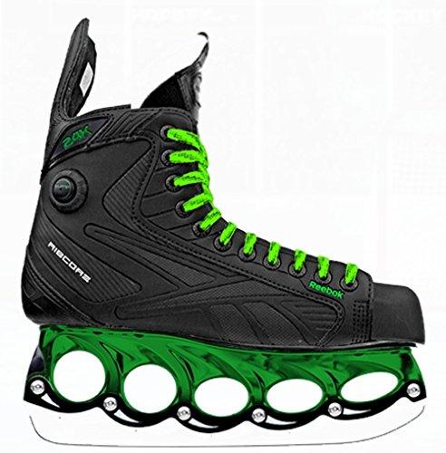 Reebok 24K Pump Green Edition Eishockey Schlittschuhe mit t-blade Kufensystem