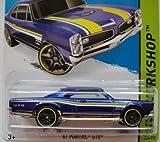 HOT WHEELS 2015 SERIES HW WORKSHOP 1967 PONTIAC GTO 228/250, BLUE
