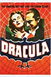 Dracula Movie Poster Cling Party Accessory