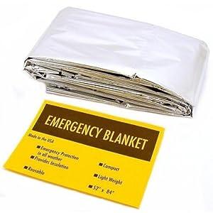 Mylar Thermal Survival Blanket