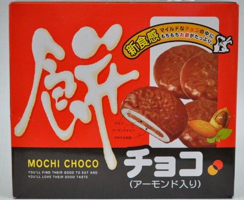 やおきん  餅チョコ アーモンド入り (1箱は20小袋入り )