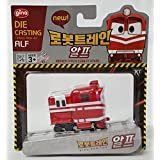 """[Robot Train] Korean Tv Animation Diecasting Mini Robot Train Characters Toy For Kids Child """" Alf """""""