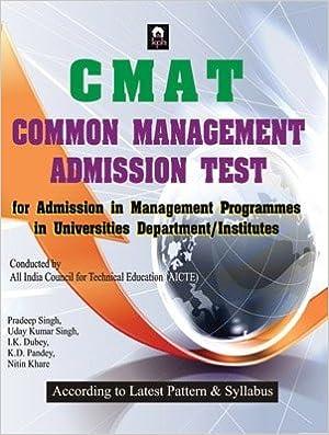 CMAT (Common Management Admission Test) -Book 2017 -Pradeep Singh