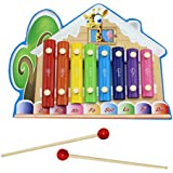 Cute Tunes Musical Toy/Musical Instrument For Toddler, Log Cabin