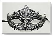 Halloween Bendable Laser Cut Black Mask