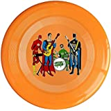 XJBD Unisex Justice Rock Band League Outdoor Game, Sport, Flying Discs, Game Room, Light Up Flying, Sport Disc , Flyer Frisbee, Ultra Star Yellow One Size