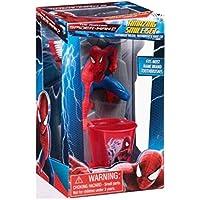 Marvel Amazing Spiderman 2 Toothbrush Holder Set, Smile Set, Toothbrush, Toothbrush Holder Stand And Cup 3 Pc...