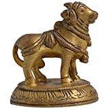 Indian Arts Emporium Brass Cow