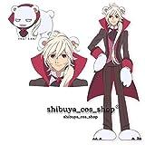 Cosplay Costume YURIKUMA ARASHI Sekushi hair ornaments bear gloves bear boots