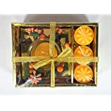 Special Candle Gift Set With Floral Tiara