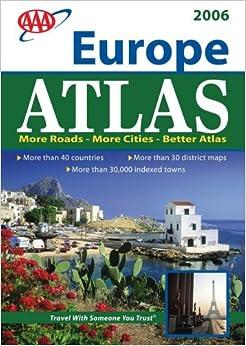 AAA Interstate Road Atlas 2006