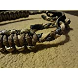 Desert Camo & Coyote Brown Paracord Bow Wrist Sling With A Touch Of Desert Sand And Foliage Green By Bostonred2010