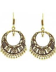 Kaizer High Quality German Silver Dangler Earring For Women/Girls (Gift)-DS-153