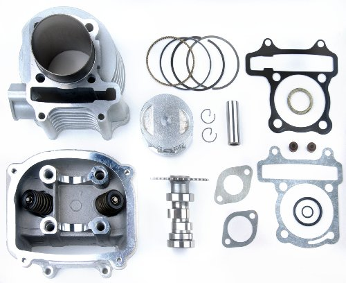 150cc to 170cc Gy6 Scooter Big Bore Kit including performance cam