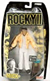 Rocky Collector Series - Rocky 2 - Mick Goldmill - Rocky's Trainer Figure - Burgess Meredith - Limited Edition - Mint - Collectible - (F)