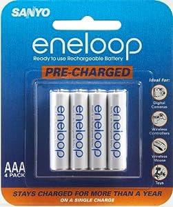 Amazon.com: Sanyo Eneloop AAA NiMH Pre-Charged