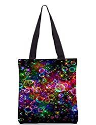 Snoogg Bubbles Universal Poly Canvas Tote Bag