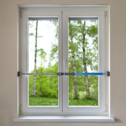 Sicherungsstange Fenstersicherung Türsicherung Einbruchschutz 199-375cm - 4