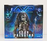 AVP ALIEN VS PREDATOR SCAR PREDATOR HOT TOYS