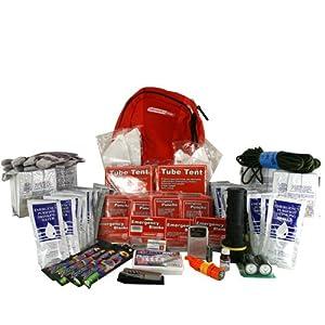 Deluxe Emergency Kit-4 Person, Emergency Zone, Disaster Survival Kit, 72 Hour Kit