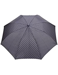 FabSeasons Unisex Checkered Printed, 2 Fold Fancy Automatic Umbrella For Rains, Summer & All Year Use