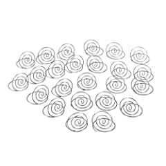 Darice VL12421SP Wedding Table Top Place Card Holder 24-Pack