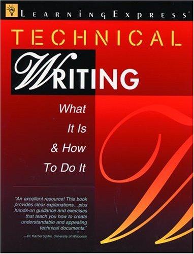 Technical Writing Book Pdf